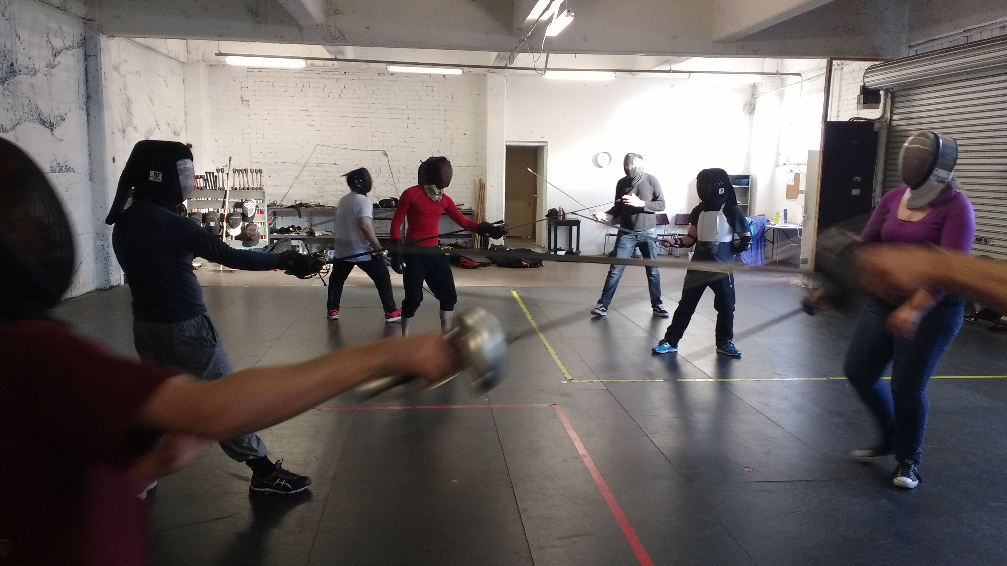 Swordfighting Class
